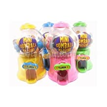 Mini Gumball Machine - Fun Sweets Dispenser - Various Colours by Party Savvy