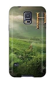 High Grade CaseyKBrown Flexible Tpu Case For Galaxy S5 - The Hobbit Movie
