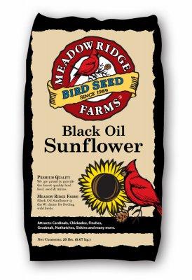 Jrk Seed & Turf Supply B200020 20-Lb. Black Oil Sunflower Bird Seeds - Quantity 100 by Jrk Seed & Turf Supply