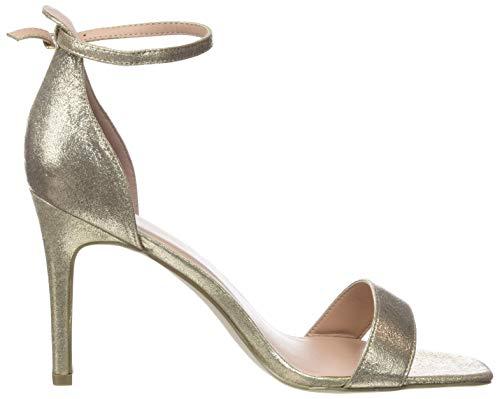 2 Mujer 93 para Rocket EU Correa y Look de Zapatos Tacon con 42 3 Gold New Tobillo 6Wzg7F5v5