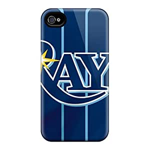 Shock-Absorbing Hard Phone Cases For Iphone 6 (lwc10455qkoE) Allow Personal Design Attractive Tampa Bay Rays Image