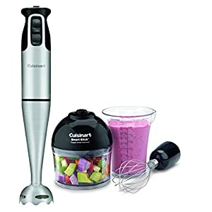 Cuisinart CSB-79 Smart Stick 2 Speed Hand Blender, Brushed Stainless Steel