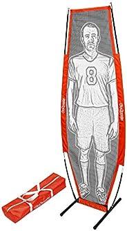 GoSports Soccer Xtraman Dummy Defender Training Mannequin - Practice Free Kicks, Dribbling and Passing Drills