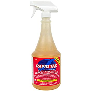 Amazoncom Rapid Tac Rapid Prep Surface Cleaner For Vinyl - Custom vinyl decal application fluid