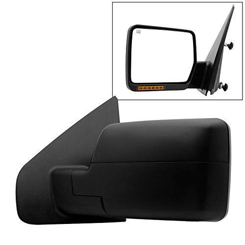 Xtune MIR-03348AEBH-P-L Mirror (Ford F150 04-06 POWER Heated Amber LED Signal OE - Left) by Xtune