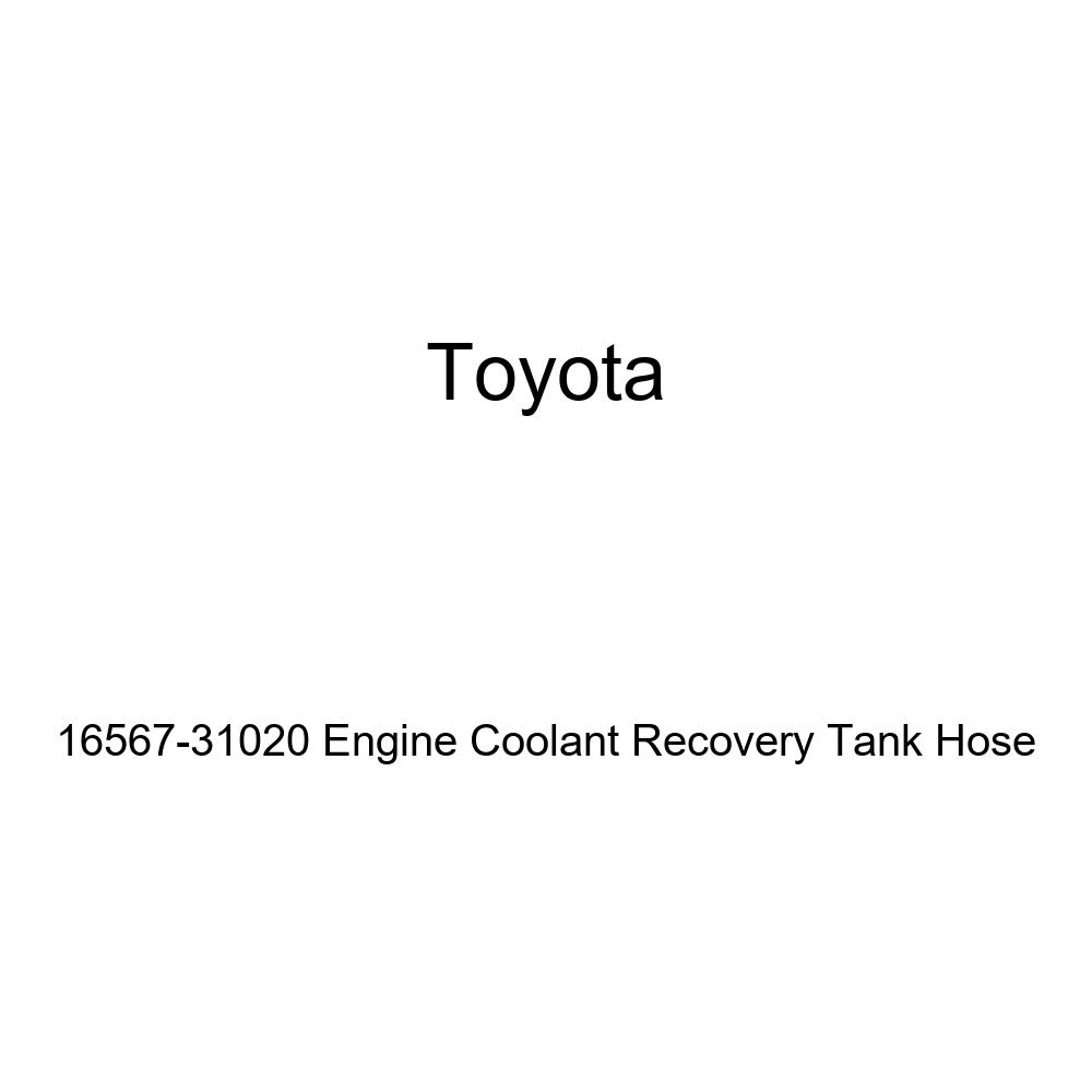 Toyota 16567-31020 Engine Coolant Recovery Tank Hose