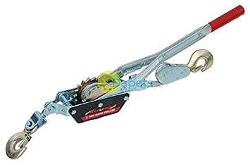 Daptez 2 Tonnen Hand Seilwinde Kabel Abzieher Turfer Bootsanhänger ...