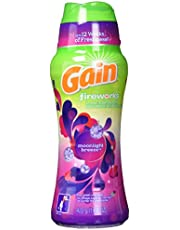 Gain Fireworks In-Wash Scent Booster Beads, Moonlight Breeze, 422 g - Packaging May Vary