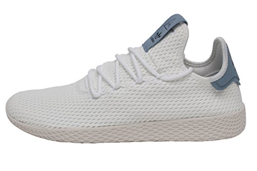 adidas Originals Men's Pharrell Williams Human Race White/White/Blue 10 D US