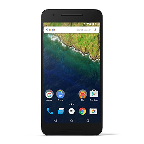 Huawei Nexus 6P  unlocked smartphone, 32GB Silver (US Warranty)