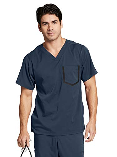 Grey's Anatomy Impact 0118 Men's V-Neck Top Steel L ()