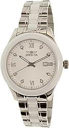 Invicta Men's 18152 Silver Stainless-Steel Swiss Quartz Watch