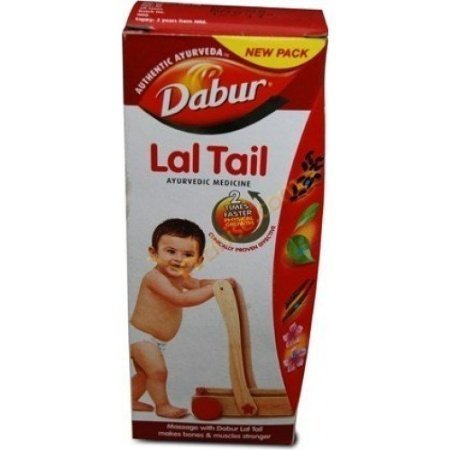Dabur Lal Tail New Pack Authentic Ayurveda (4 Pack, ()