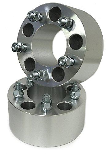 2 CHEVY WHEEL SPACERS 5X4.75 | CAMARO CORVETTE S-10 | 12X1.5 (3 Inch)
