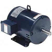 3, 1-1/3 HP Belt Drive Motor, 3-Phase, 1760/1160 Nameplate RPM, 460 Voltage, Frame 184T