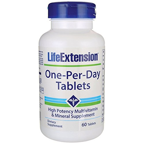LIFE EXTENSION ONE PER DAY 60 TABLETS B018SVXJ3M