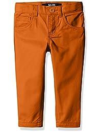 French Toast Boys' Slim Fit 5 Pocket Pant