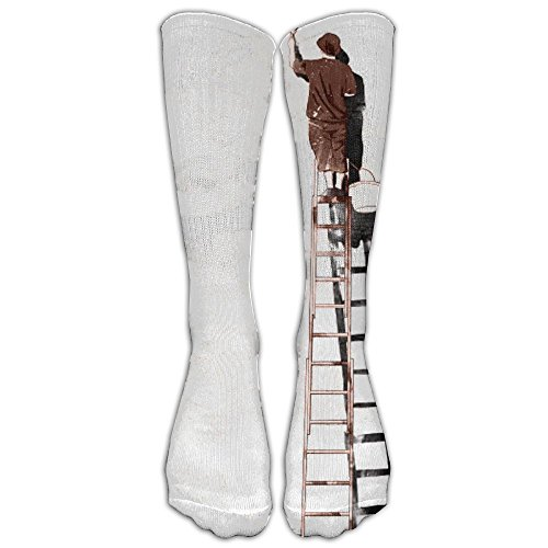 Whitewash White Clouds Compression Socks Comfortable Breathable And Stylish Calf Socks Athletic Long Socks