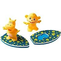 Surfistas no Banho, Girotondo Baby, Azul/ Amarelo