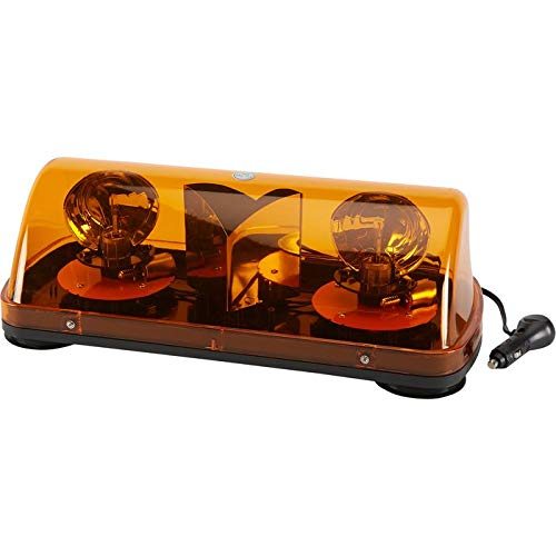 Blazer C4500AW Amber Mini Revolving Light Bar – Pack of 1