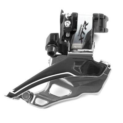 Shimano Xtr Fd-M986 Front Derailleur - 10-Speed, Tpbs, 28.6/34.9mm, Black