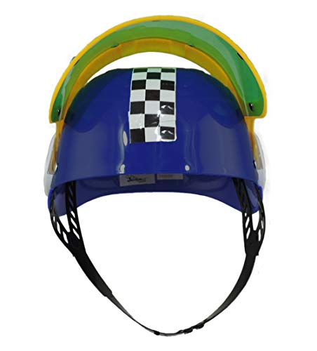 Jacobson Hat Company Kids Plastic Racing Helmet Blue