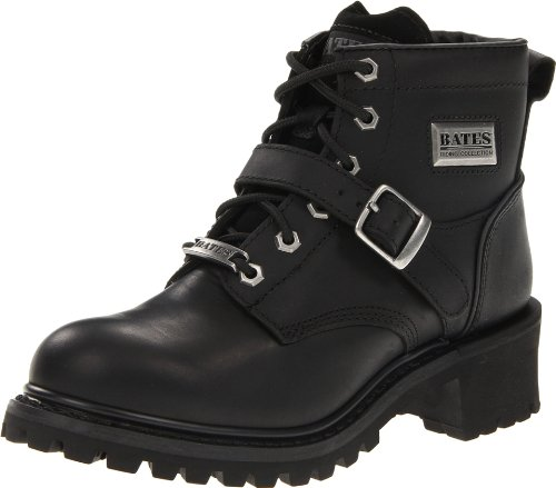 Bates Women's Albion Logger Boot,Black,7 M US