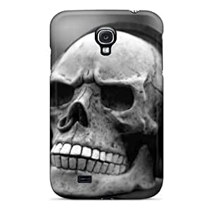Special Design Back Skull Music Phone Case Cover For Galaxy S4