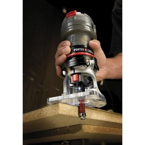 PORTER-CABLE PCE6430 4.5-Amp Single Speed 1/4-Inch Laminate Trimmer