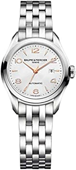 Baume and Mercier Clifton Automatic Silver Dial Women's Watch