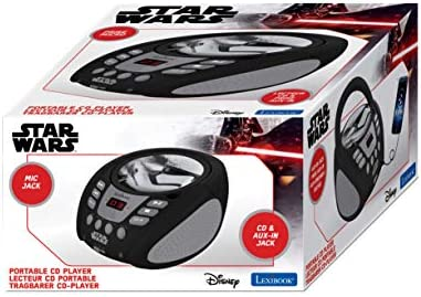 Lexibook RCD108SW Radio CD Player Star Wars Design