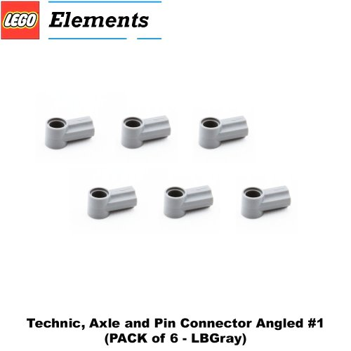 Lego Parts: Technic, Axle and Pin Connector Angled