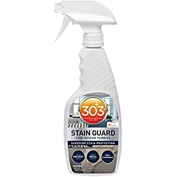 303 (30675) Fabric Stain Guard and Protectant for Home Interior Fabrics, Cushions, Upholstery and Carpets, 16 fl. oz.