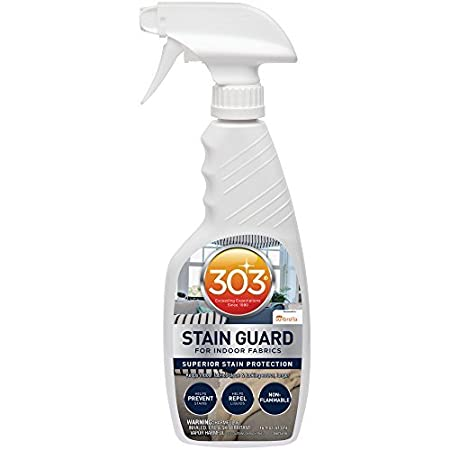 303 (30675) Fabric Stain Guard Protectant Home Interior Fabrics, Cushions, Upholstery Carpets, 16 fl. oz. 303 Products 30675CSR