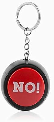 Eurowebb Llavero con botón con Sonido no. - Llavero con ...