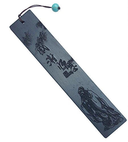 Handmade Natural Wooden Bookmark, Melyaxu Laser - Engraved Bookmarks with Tassel, Chinese Style Classical Pattern Bookmarks - Best Bookmark Gift
