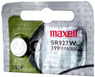 Maxell SR927W SR57 399 SG7 SR927 Silver Oxide Watch Battery