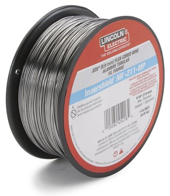Lincoln Electric ED030584 Inner Shield NR-211 Flux-Core Welding Wire, .035-In. - Quantity 5 by Lincoln Electric