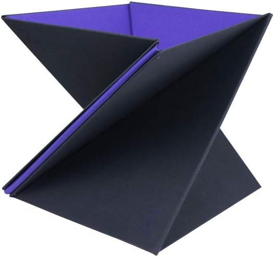 Levit8 - The flat folding portable standing desk,Periwinkle,Small
