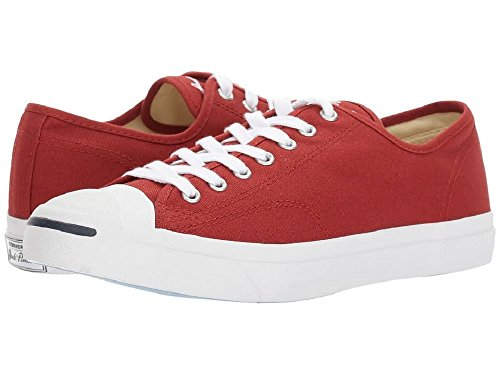 Converse 157784c: Sneakers Unisex In Pelle Purpur Ox Rosso Terra Rosso / Bianco Naturale