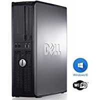 Windows 10 Dell Optiplex Computer (Intel Core 2 Duo processor, New 8GB RAM , 250GB HDD) - (Certified Reconditioned)
