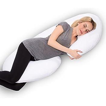 Amazon Com Leachco Snoogle Total Body Pillow Ivory Home