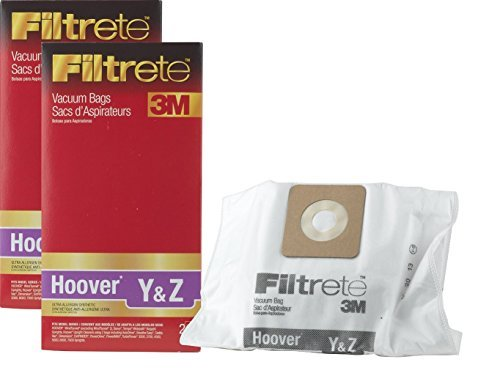 3M Filtrete Hoover Type Y and Type Z Cloth Vacuum 4 Pack ()