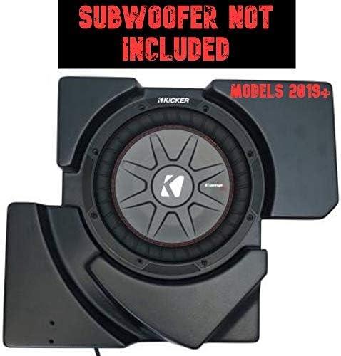 UnderseatPassanger Side Only 10in Unloaded Subwoofer Enclosure SSV Works Can-Am Maverick X3 2019