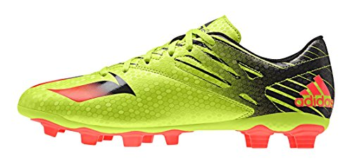 Messi 's Red semi 4 core Men Fxg n solar 15 Footbal Black Slime Solar Shoes Adidas Gr AUHEqwx4