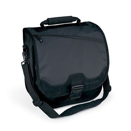 Kensington K64079H SaddleBag Notebook Carrying Case (Black) (64079) ()