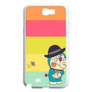 Samsung Galaxy N2 7100 Cell Phone Case White Doraemon A38418715