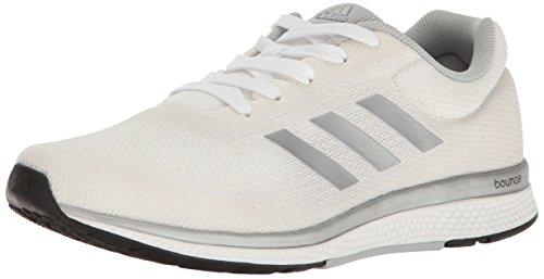 adidas Performance Women's Mana Bounce 2 W Aramis Running Shoe, White/Metallic/Silver/Black, 6 M US