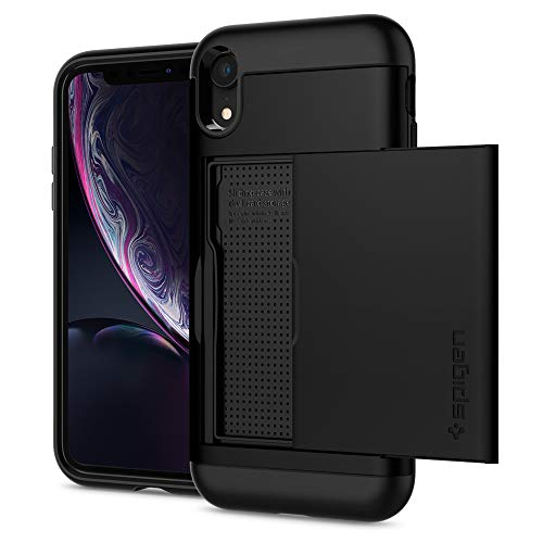 Spigen Slim Armor CS Designed for Apple iPhone XR Case (2018) - Black