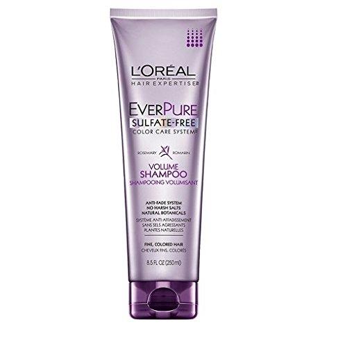 (L'Oreal Paris EverPure Sulfate-Free Color Care System Volume Shampoo, 8.5 Fl Oz)